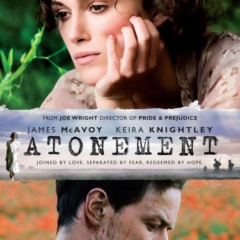 Atonement is one of the Academy Award winning Irish movies.