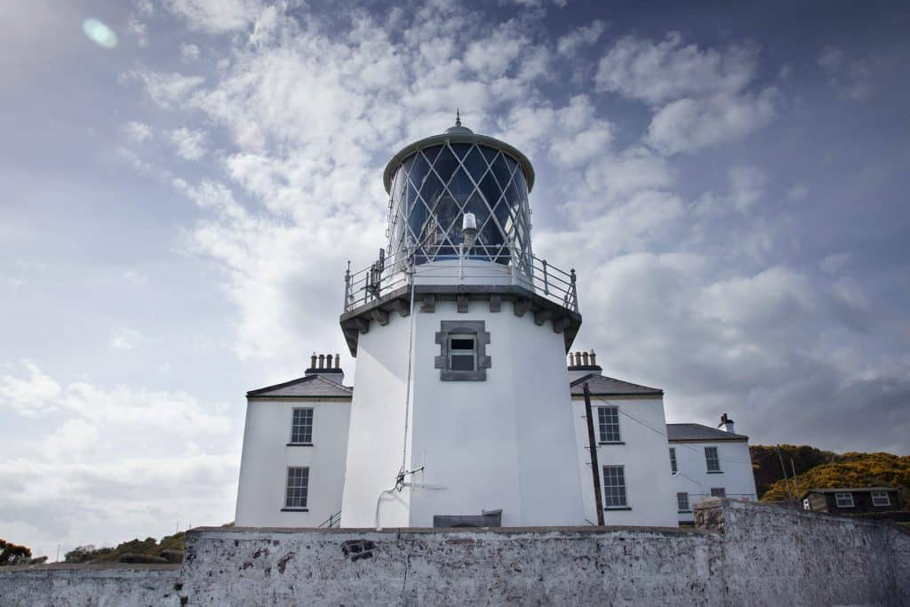 Blackhead Lighthouse in County Antrim is a majestic sight.