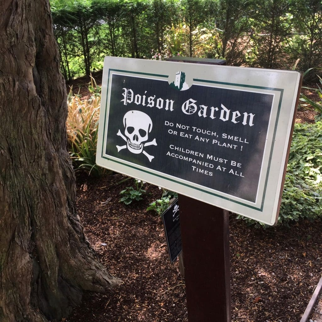 One of the facts about Blarney Castle is about the toxic gardens.
