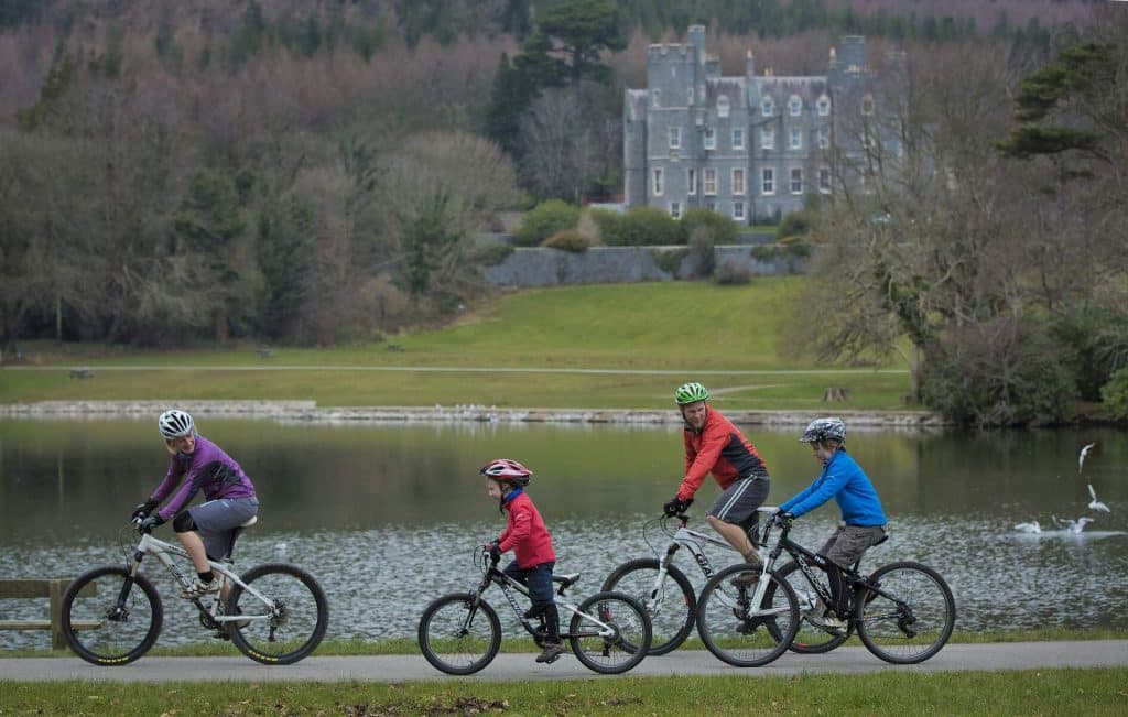 Castlewellan Forest Park is a great spot for mountain biking.