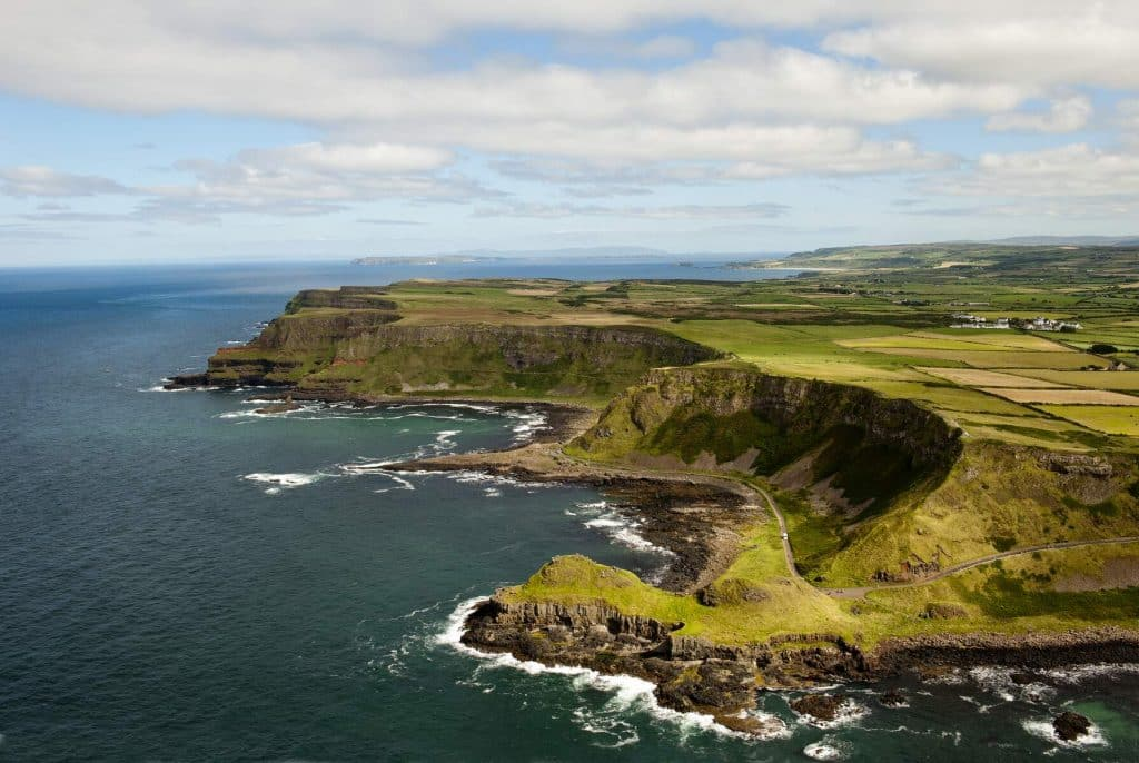 The Causeway Coast is one of the Irish road trips among the world's most beautiful.