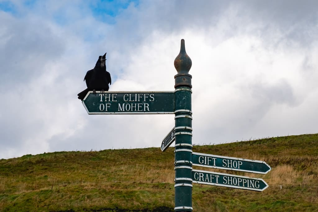 How to get to the Cliffs of Moher Harry Potter scene.