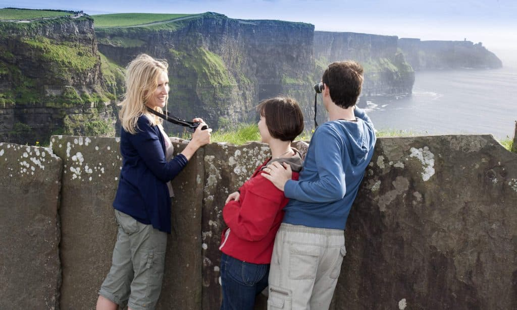 What to bring when visiting the Cliffs of Moher Harry Potter scene.