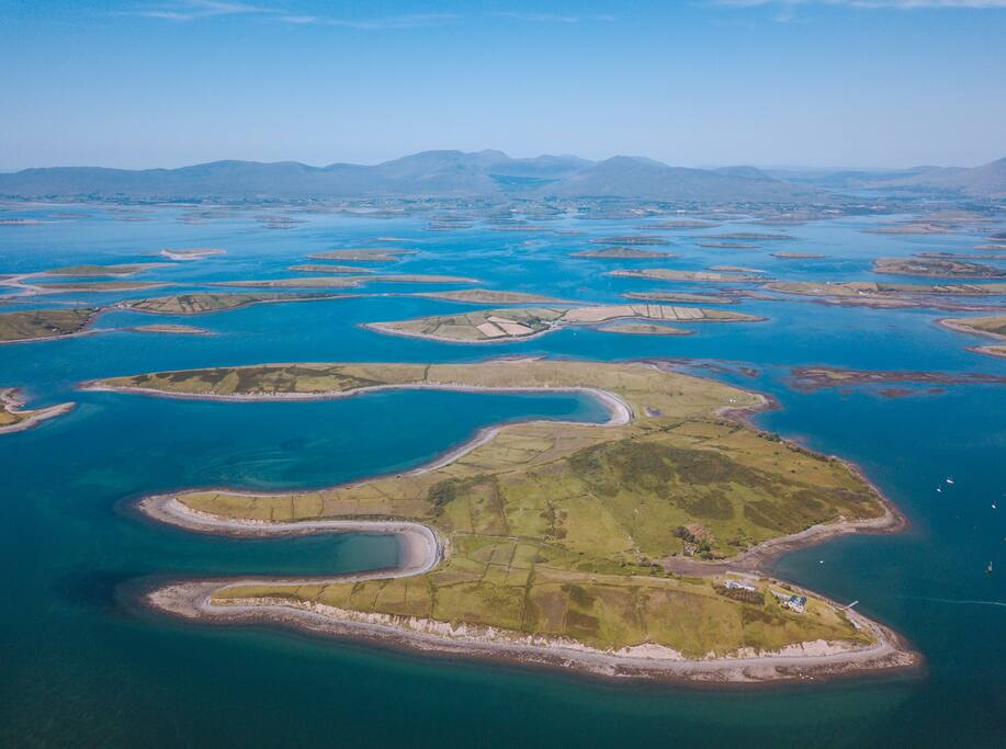 You can now rent an entire island off the coast of Ireland.
