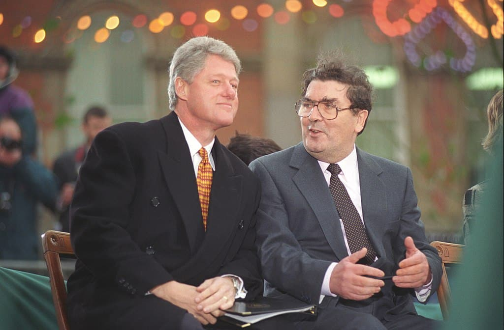 John Hume was a key figure in the peace process.