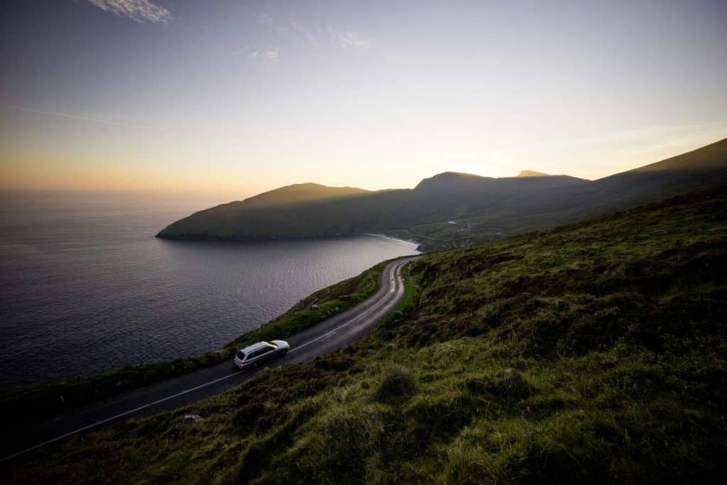 The Wild Atlantic Way is a popular tourist trail.