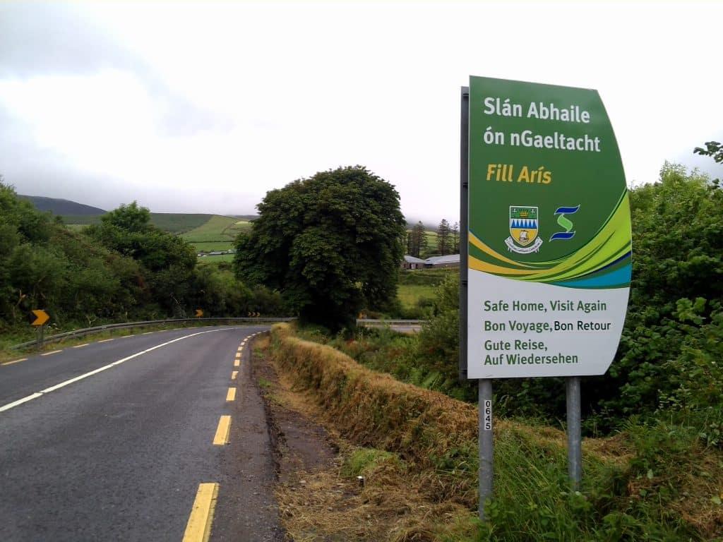 Sign up for an Irish language class.