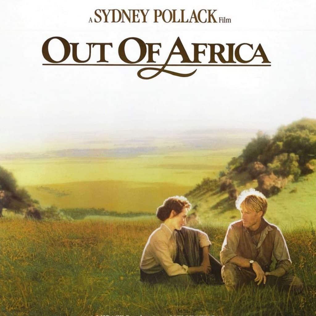 Out of Africa set design by Josie McAvin.
