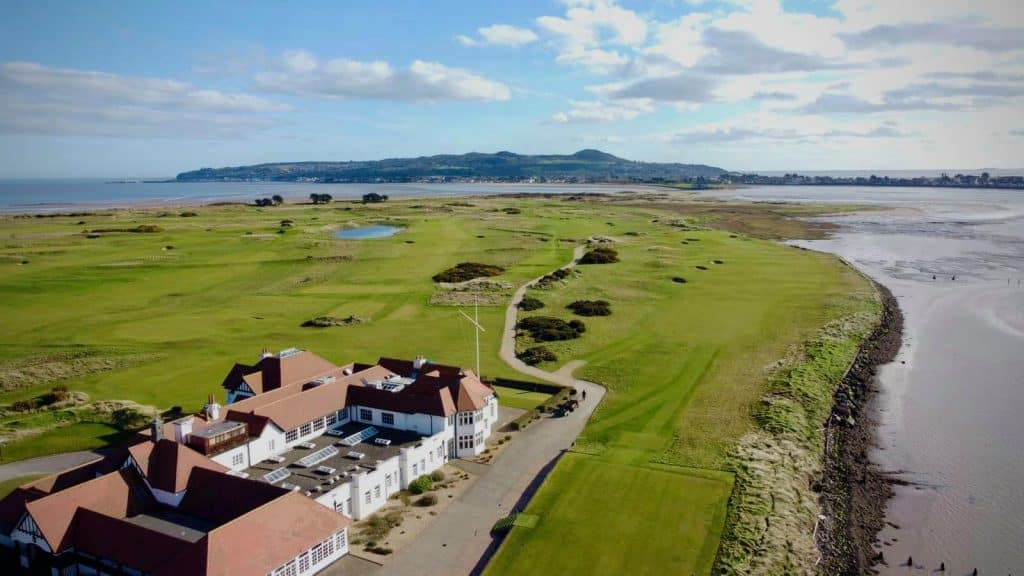 Portmarnock Golf Club is a must-visit.