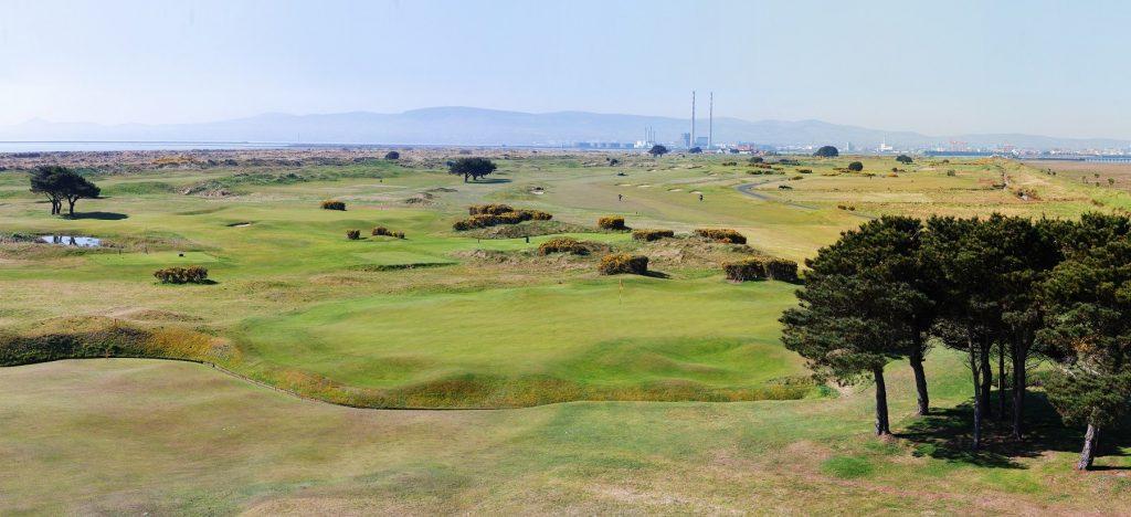 Royal Dublin Golf Club in Dollymount.