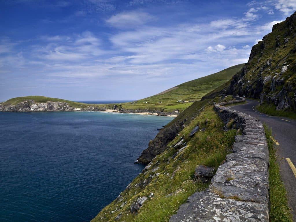 Slea Head in County Kerry is one of the most dangerous roads in Ireland.