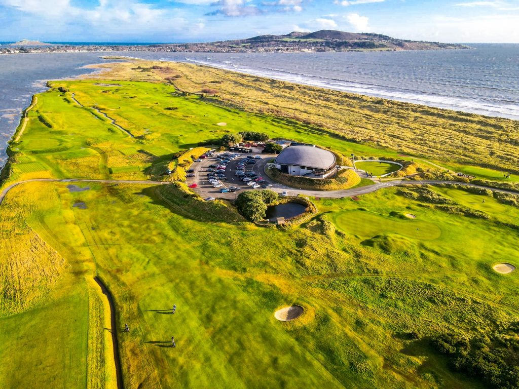 St Anne's Golf Club in Dollymount offers amazing views of Dublin Bay.