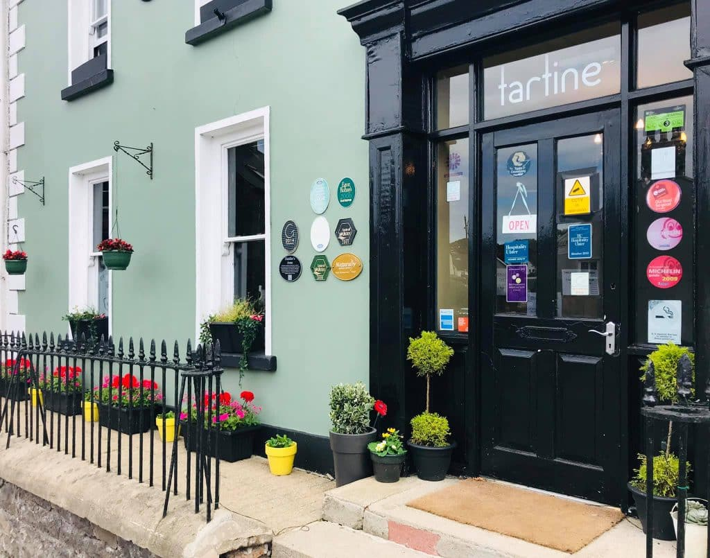 Head to Bushmills for a bite to eat.