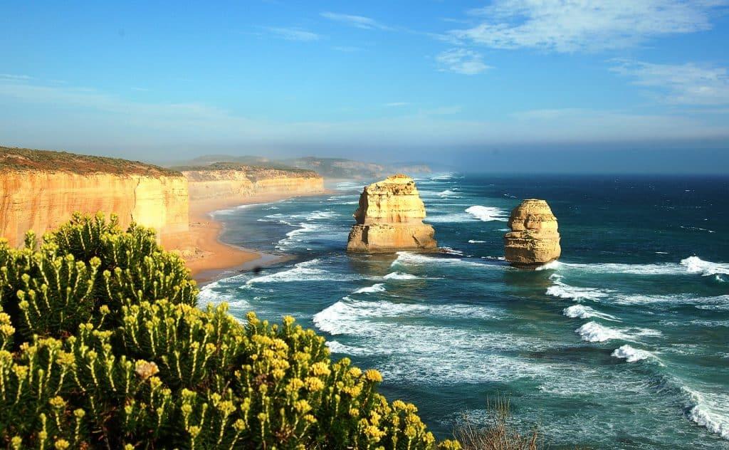 Alongside the Irish road trips named most beautiful is Australia's Great Ocean Road.