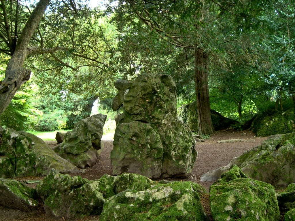 The witch is a common figure in legends of Blarney Castle.