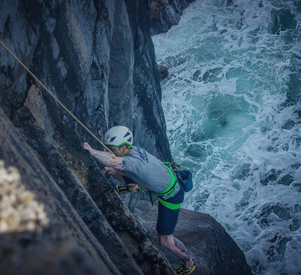 Ailladie is a must-visit for wild rock climbing in Ireland.