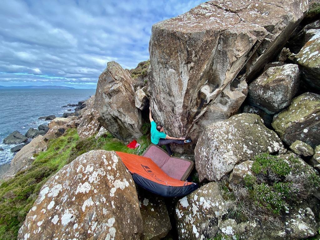 Fair Head is a key spot for climbers.