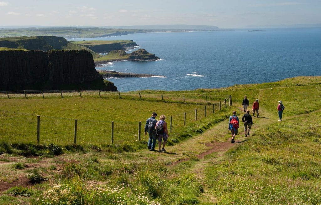 The Causeway Coast Way is one of the best walks in Ireland.