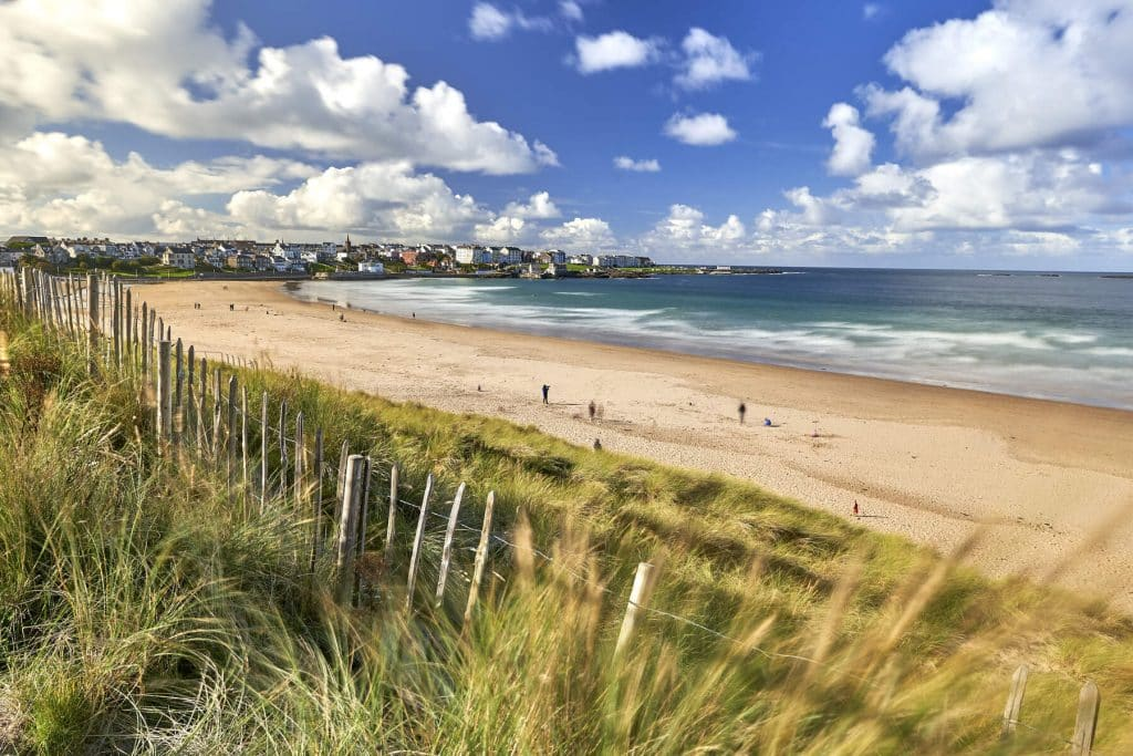 First up on our list of off the beaten path destinations in Ireland is Portrush.