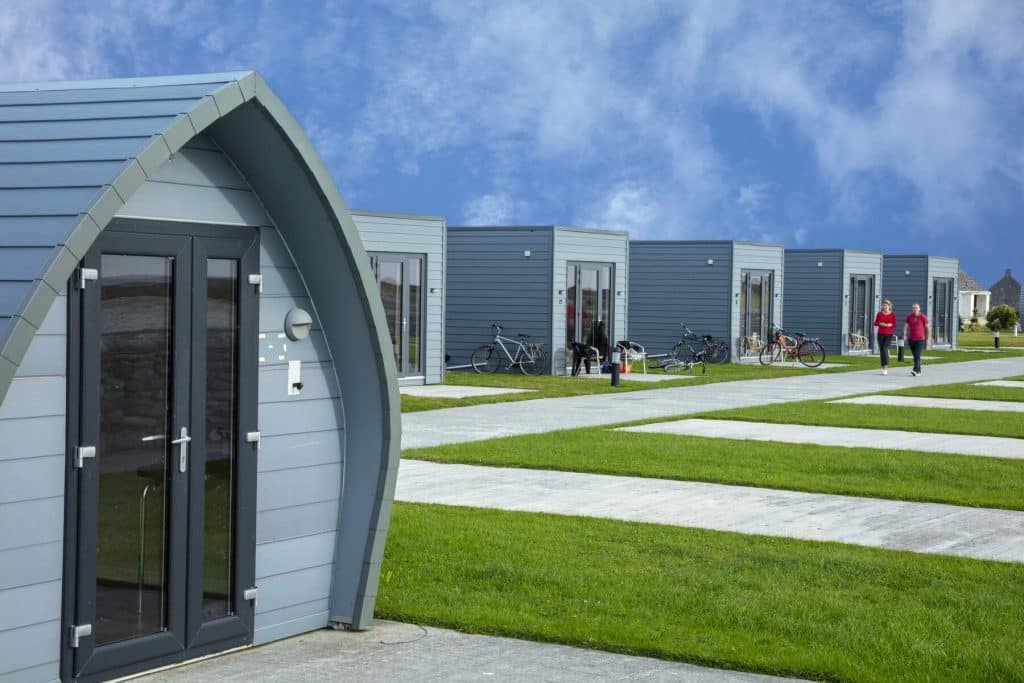 Aran Islands Camping and Glamping is one of the best Aran Islands accommodation options.