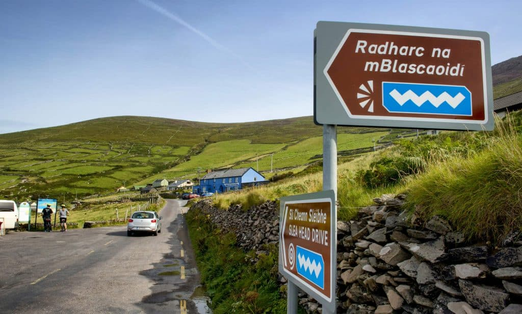 The Wild Atlantic Way is Ireland's most well-known tourist trail.
