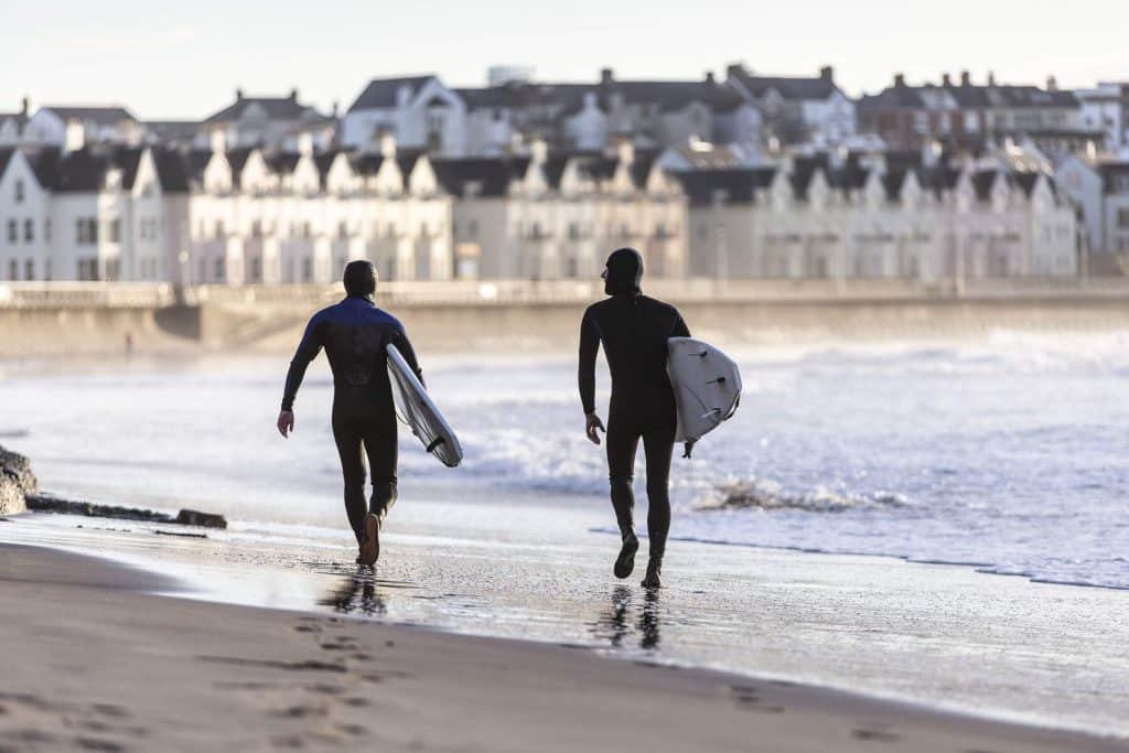 Portrush is a must-see beauty spot.