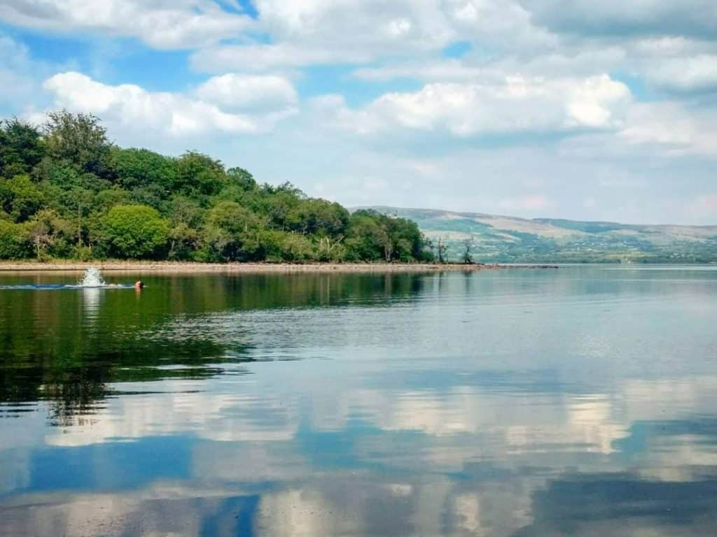 Lough Allen is a must for fishing competitions.