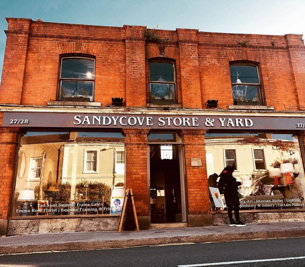 Grab a bite to eat from Sandycove Store & Yard.