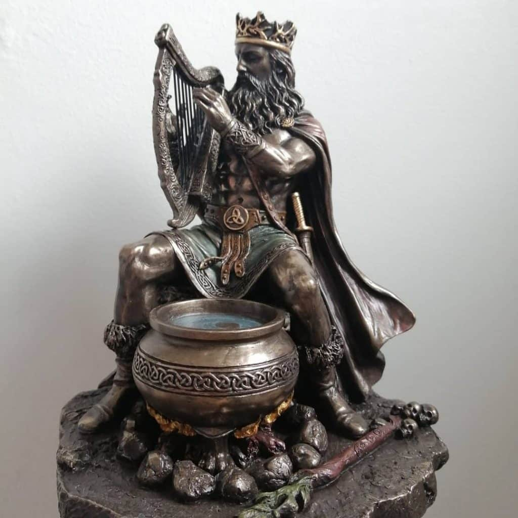 Dagda tops our list of ancient Celtic gods and goddesses.