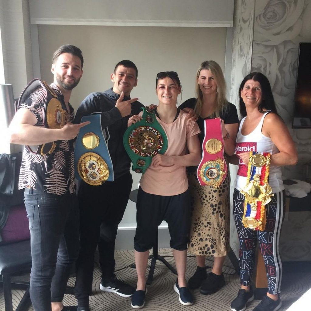 One of the facts about Katie Taylor you never knew is that boxing runs in the family.