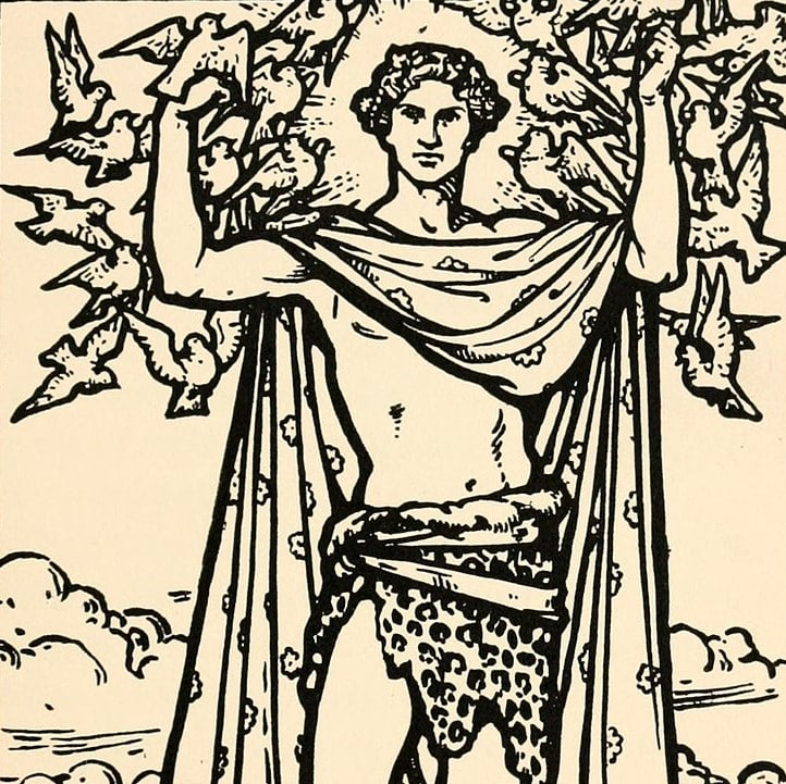 Aengus was the god of love.