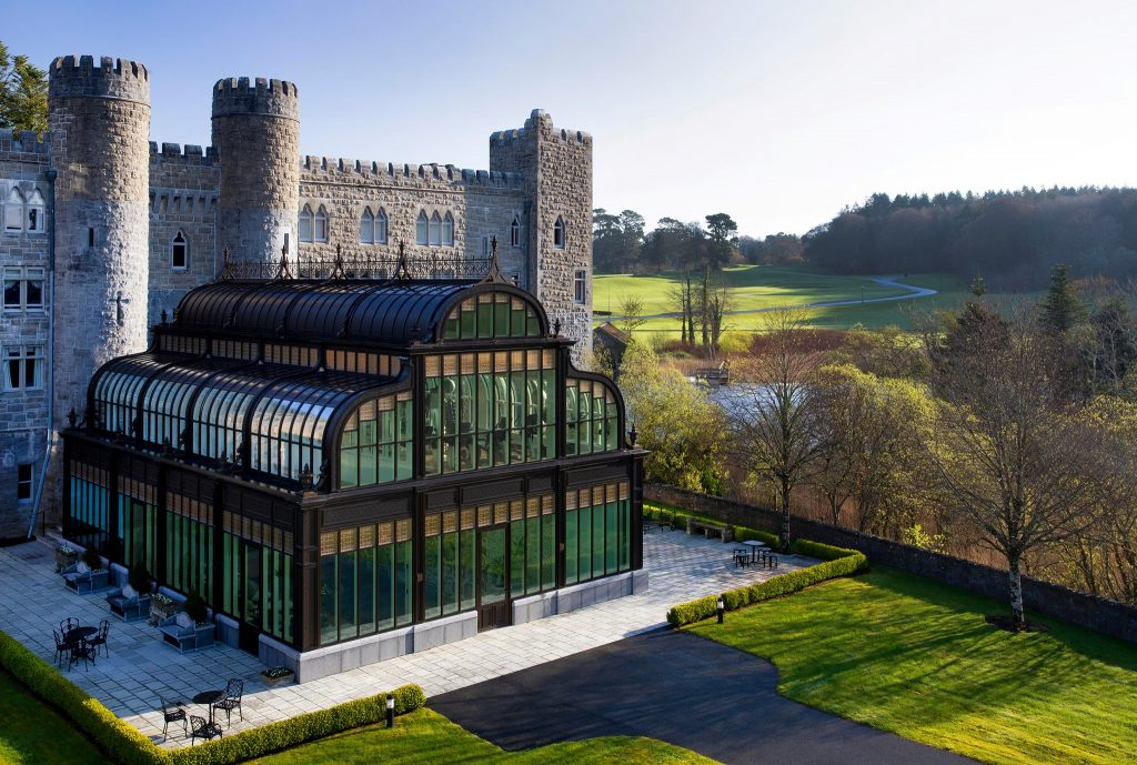 Ashford Castle in County Galway is free for hotel residents.
