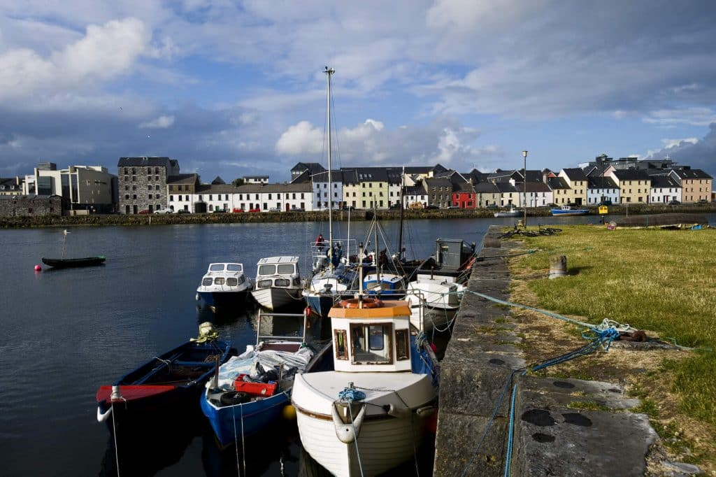 Galway city offers bohemian charm.