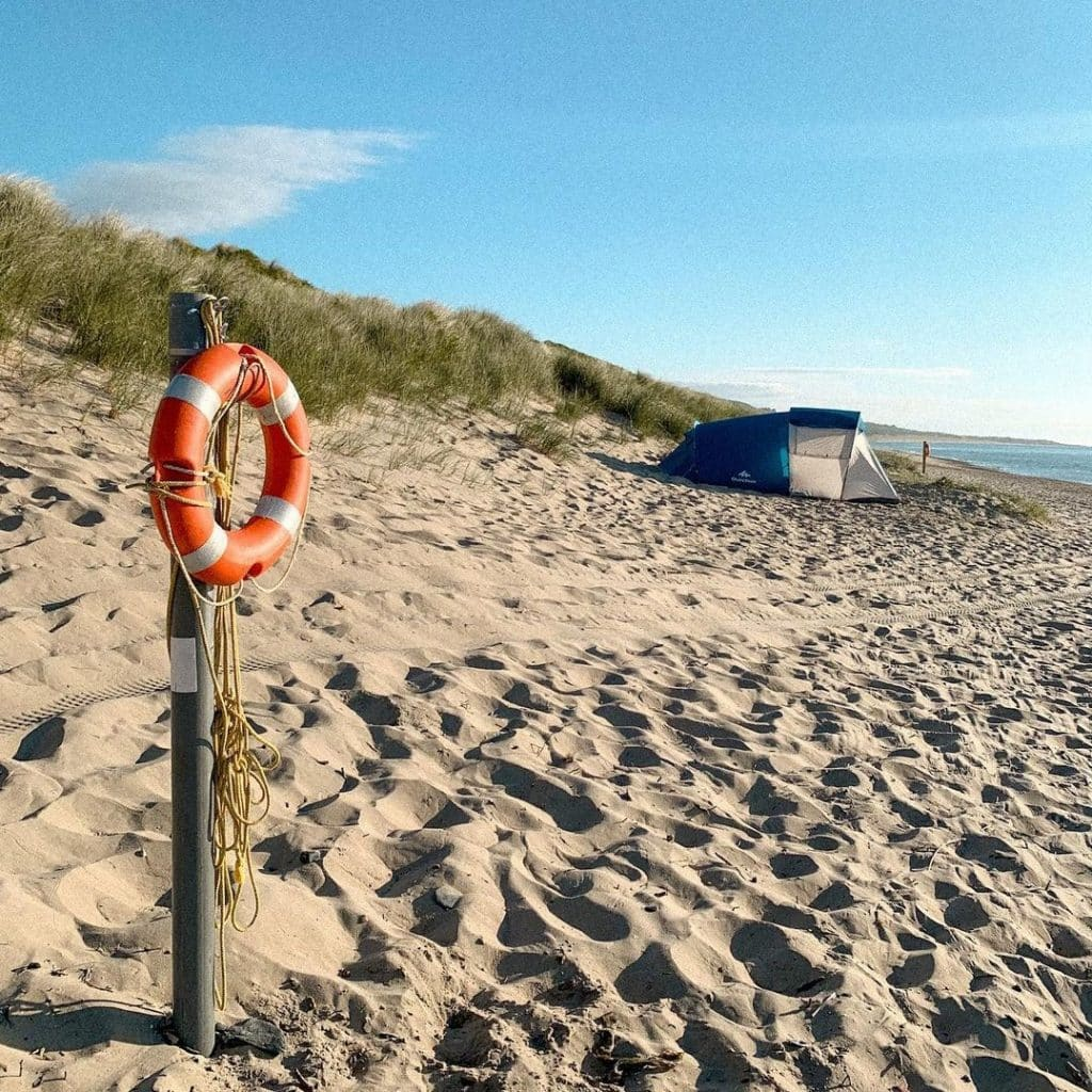 Brittas Bay tops our list of best beaches in Wicklow.
