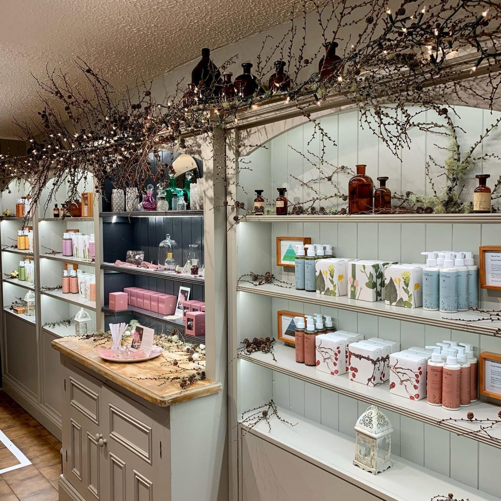 The Burren Perfumery is a great stop on the way from Galway to Cliffs of Moher.