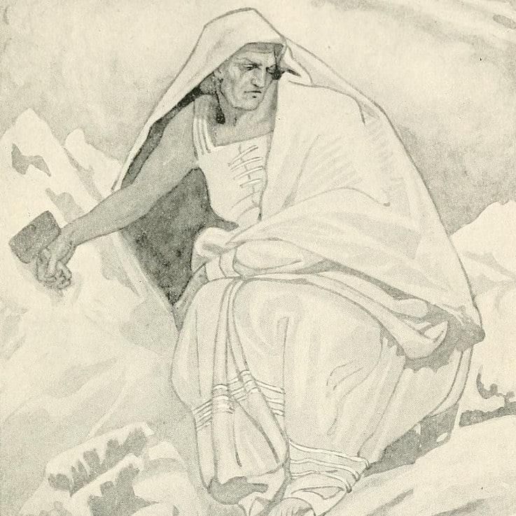 Cailleach is one of the most fascinating ancient Celtic gods and goddesses.
