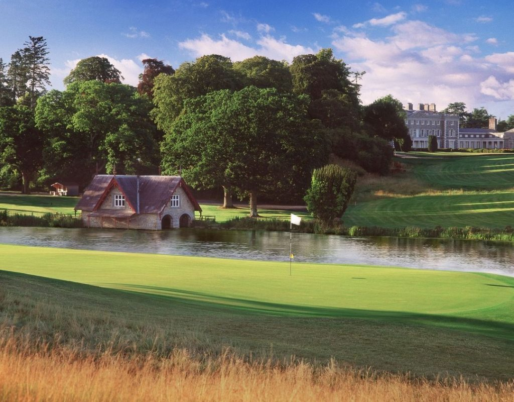 Carton House tops our list of the best golf hotels in Ireland.