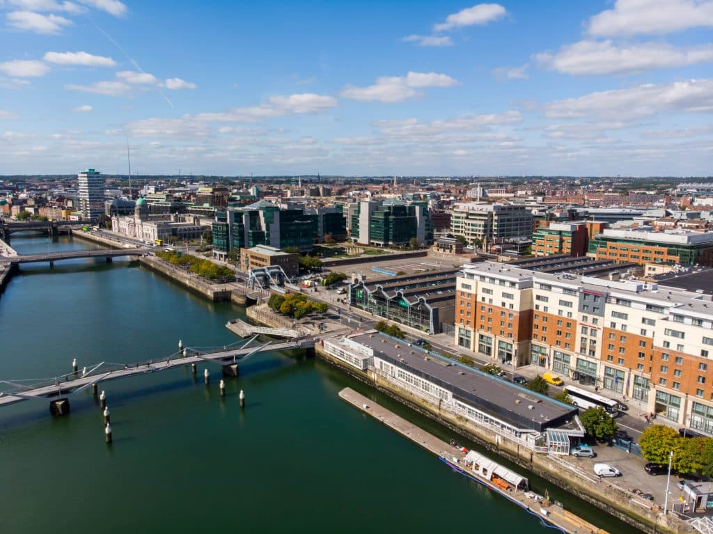 Dublin city is one of the best places to live in Ireland.