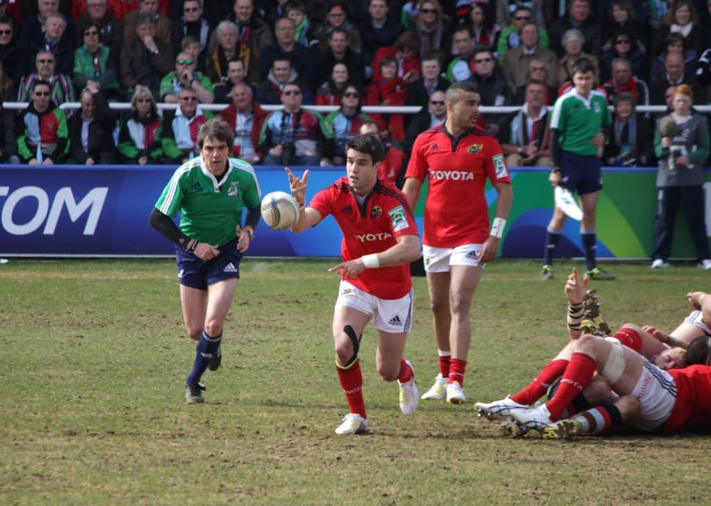 Conor Murray is one of the best Irish sports stars.