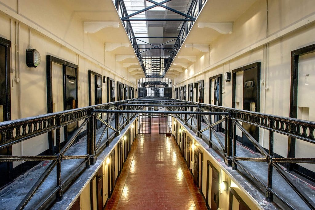 Pay a visit to Crumlin Road Gaol on your Northern Ireland in six days road trip.