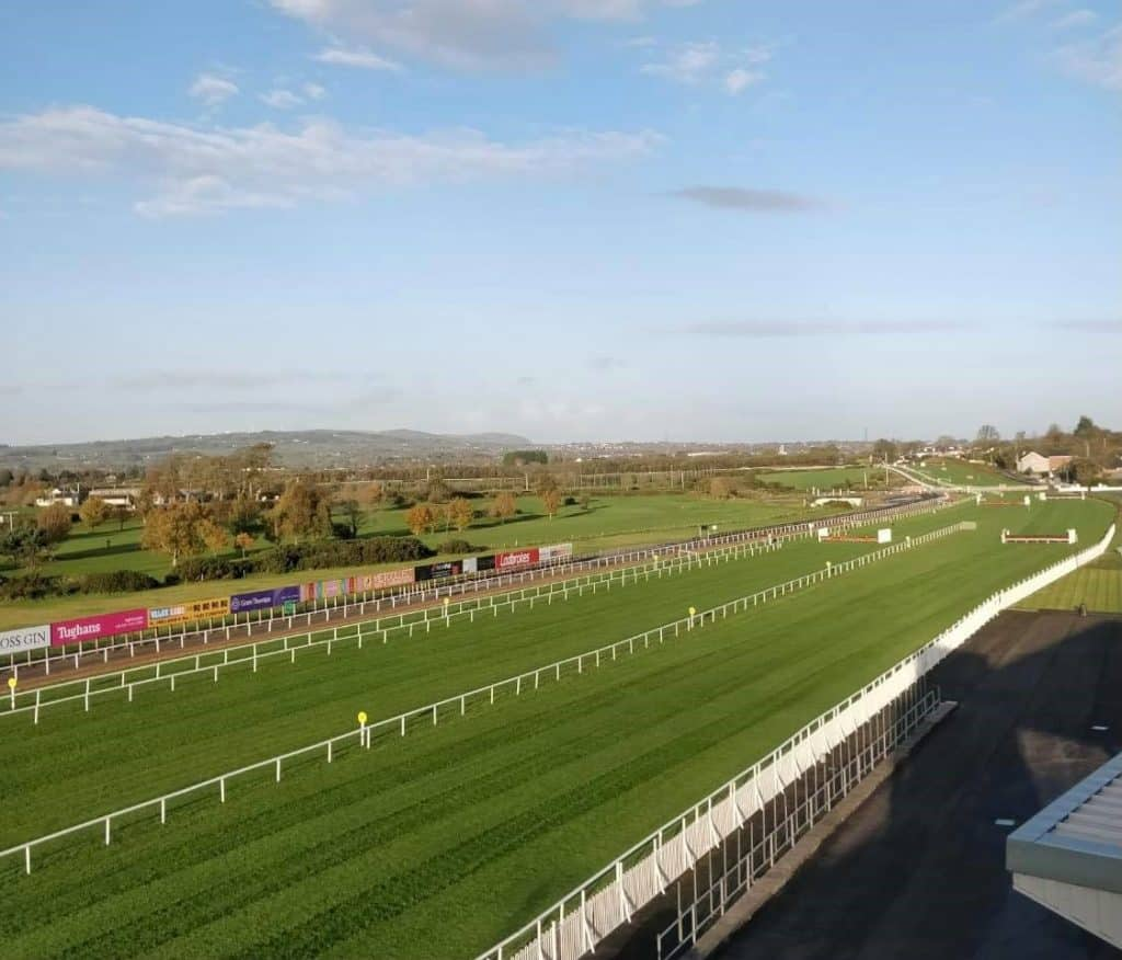 Down Royal Racecourse tops our list of the best racecourses to visit in Ireland.