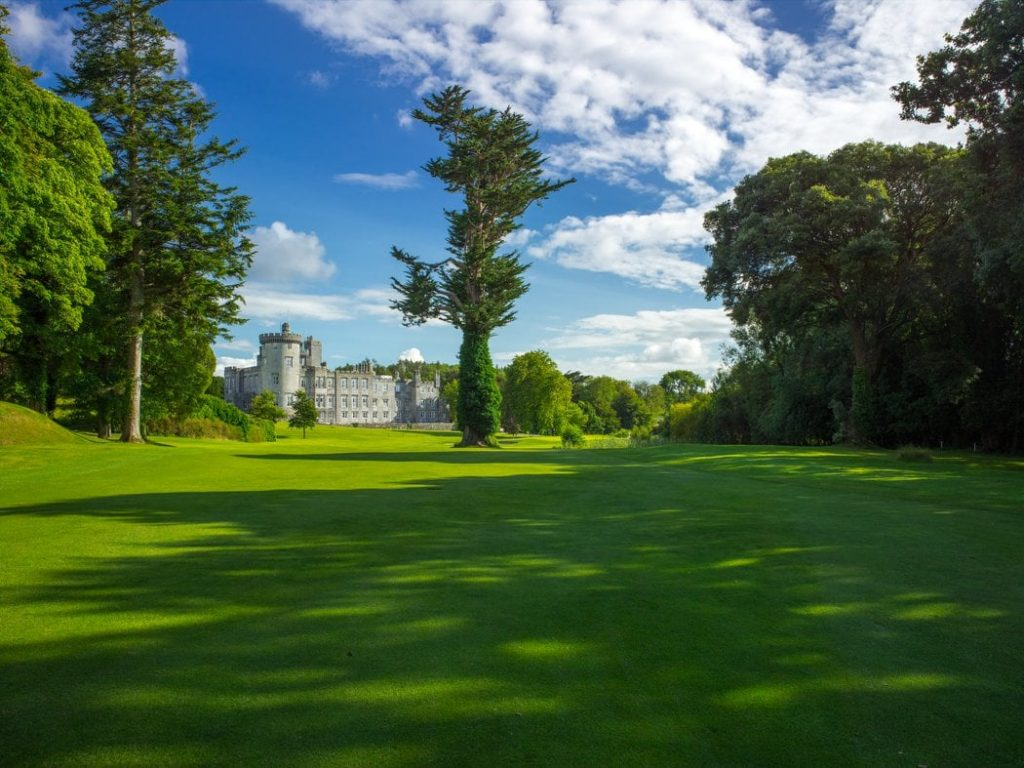Dromoland Castle Hotel is a must.