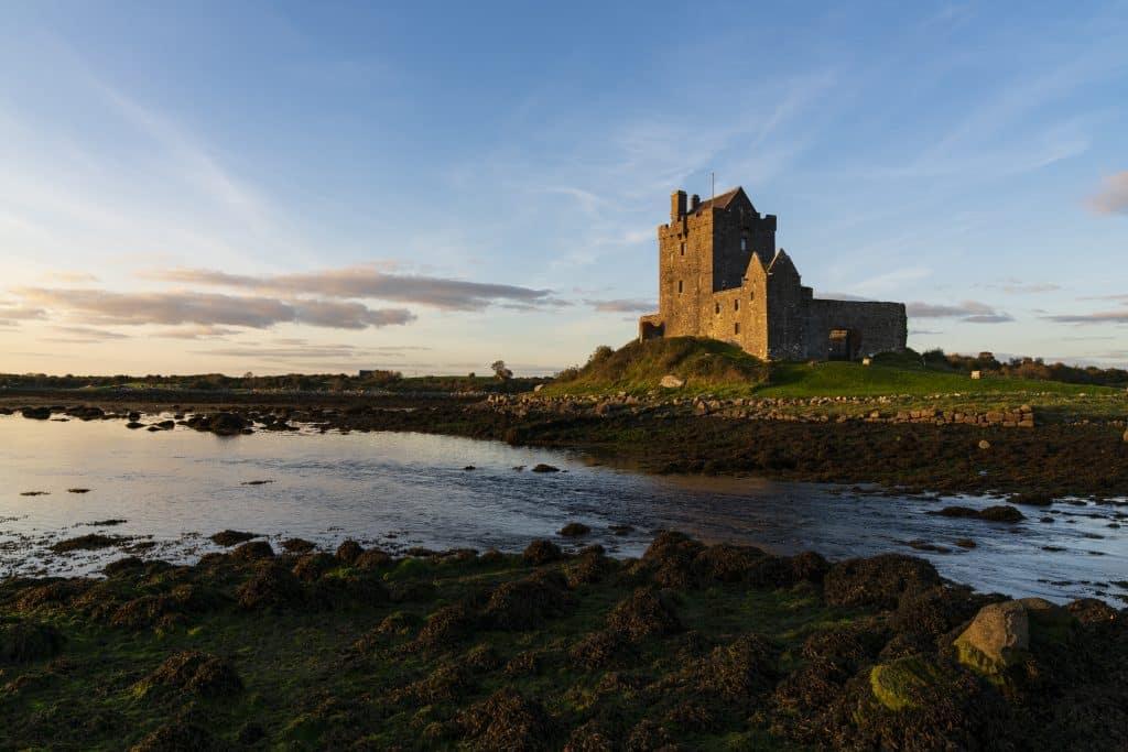 Dungaire Castle is a historic landmark in Kinvara.
