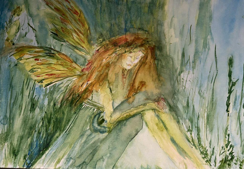 Aine was a fairy goddess of summer.