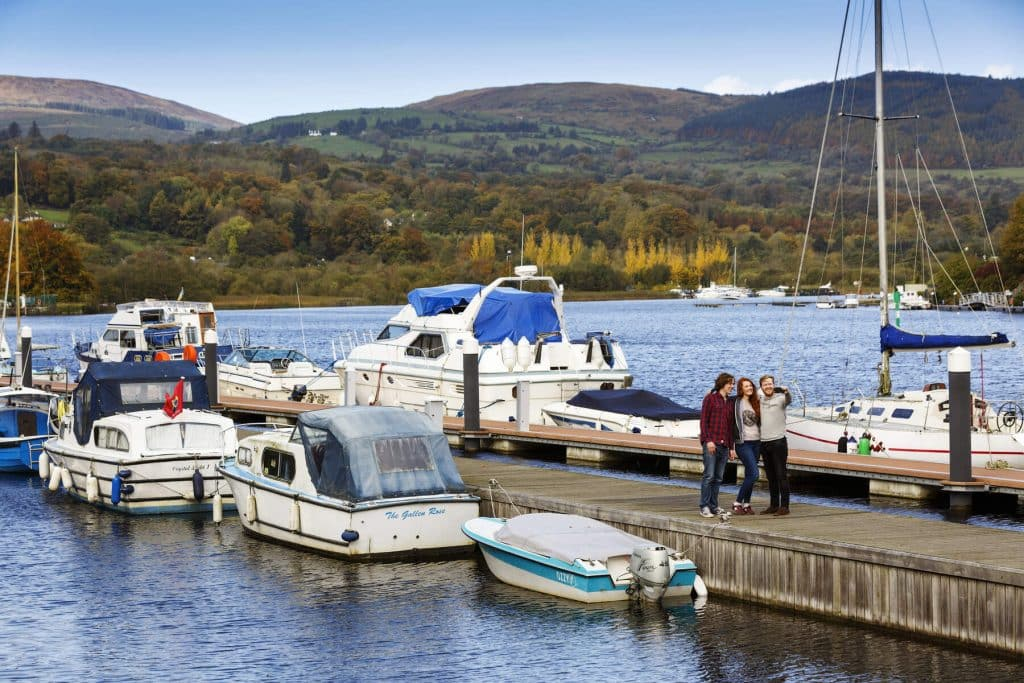 Lough Derg is one of the best spots for fishing in Ireland.