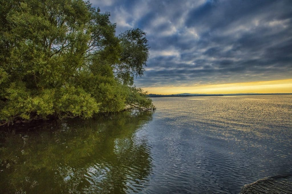 Lough Neagh is one of the most beautiful lakes in Ireland.