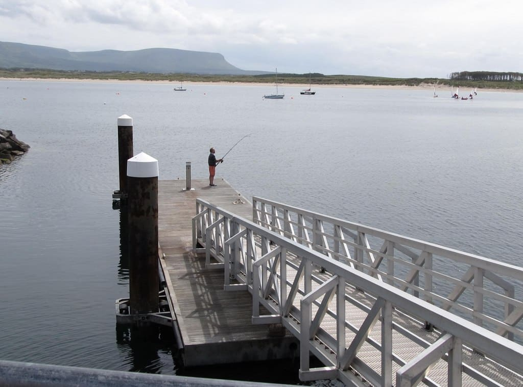 Mullaghmore in County Sligo is perfect for sea fishing.