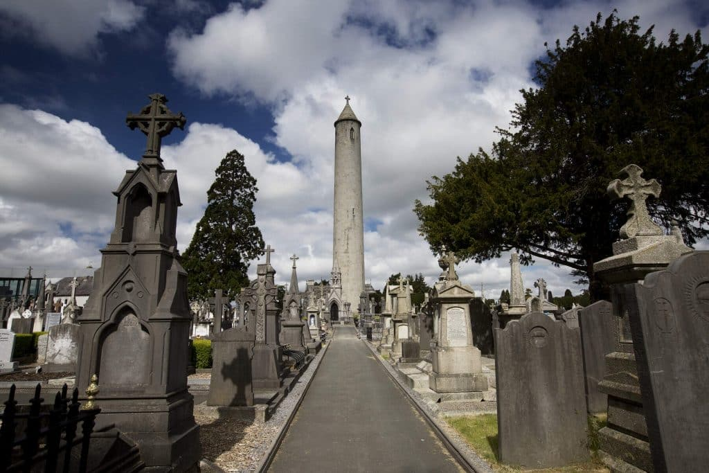 Visiting Glasnevin Cemetery is a must.