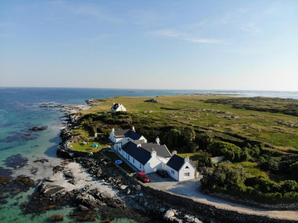 Guinness House is one of the best sea view cottages in Ireland.