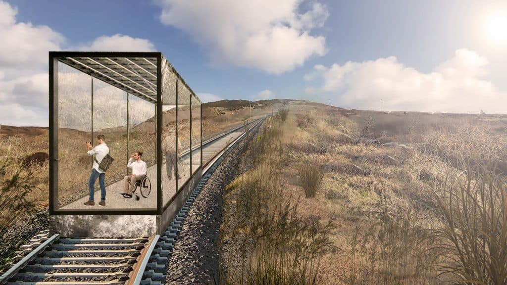 Ireland's first funicular cable railway planned for Donegal.
